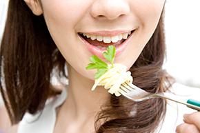 食事――よく噛んで食べる